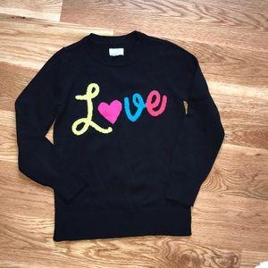 Children's Place 'Love' Sweater